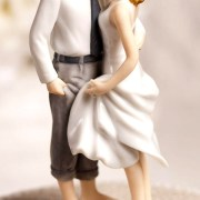 beach wedding cake topper bridal accessories