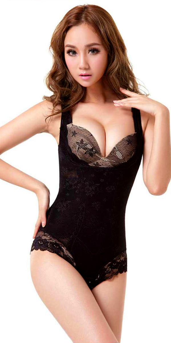 slimming and sculpting corset body shaper sexy womens shapewear
