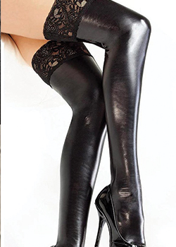 cheap leather clothing leather stockings women's sexy