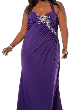 sexy women's dresses plus size