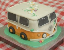 VW camper van for handfasting