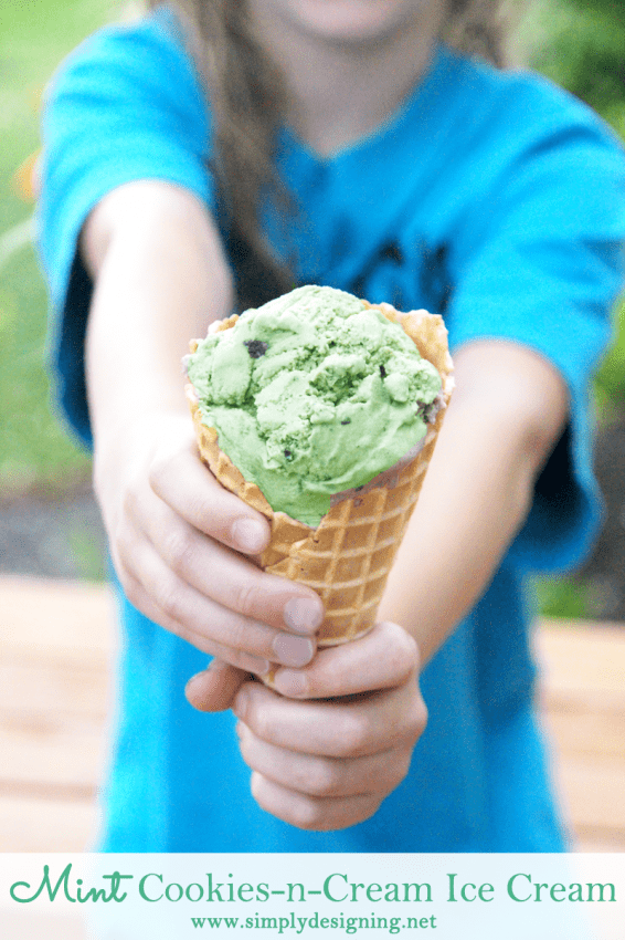 How to make Mint Cookies and Cream Ice Cream