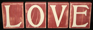 14 Days of Valentine – Day 13: Vinyl and Wood Valentine's Day Home Decor