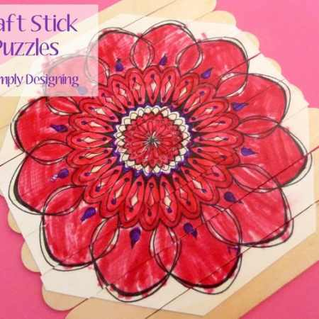 DIY Craft Stick Puzzles {Boredom Buster}