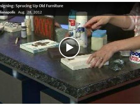 Ways to Spruce up Old Furniture {Fox59}