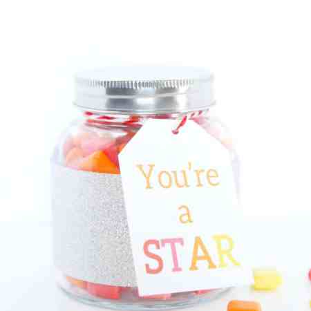You're a STAR {Gift Idea with Free Printable}  #DuckTape #spon
