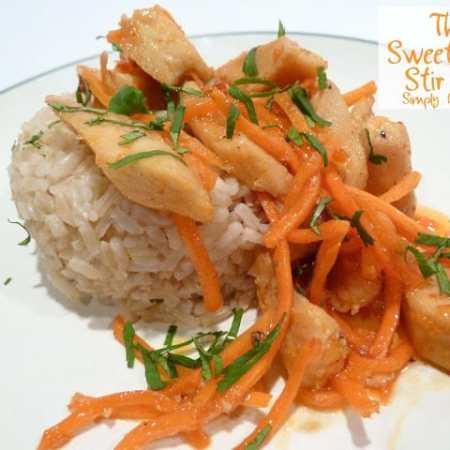 Thai Sweet Chili Stir Fry