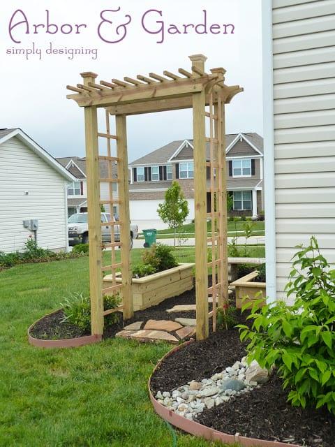Arbor and Garden ~ Secret Garden ~ #garden #plant #website #HGTVGardens #spon