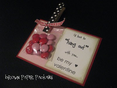 10 Days of Valentine – Day 2: Adorable Valentine's Day Card / Treat Idea
