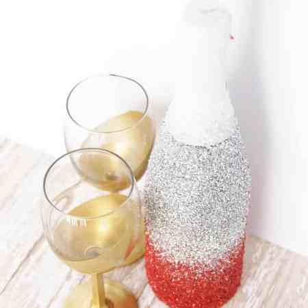 Glitter Champagne Bottle (aka Glitter Sparkling Cider Bottle)
