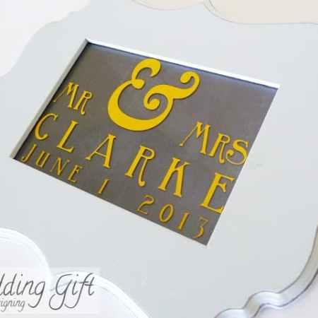 Wedding Date Sign