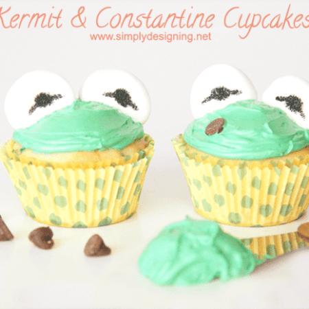Kermit or Constantine Cupcakes