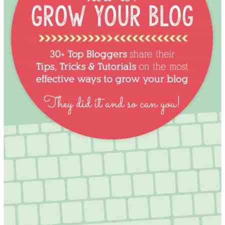 How to Grow Your Blog eBook