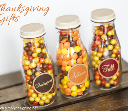 Simple Thanksgiving Gift Idea