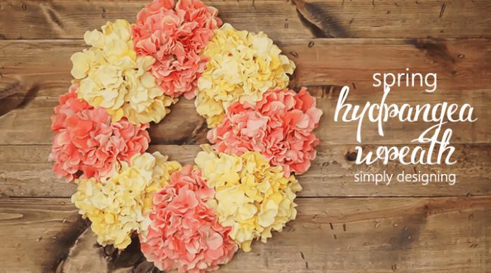 Spring Hydrangea Wreath