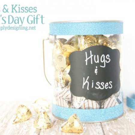 Hugs and Kisses ~ simple Father's Day Gift
