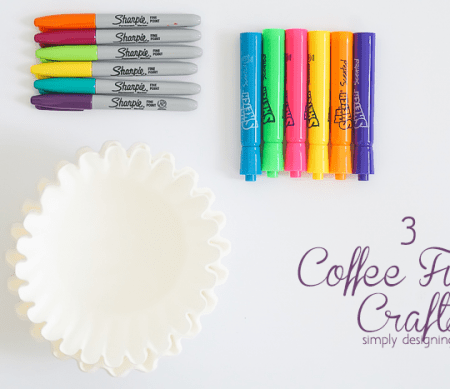 3 Coffee Filter Crafts