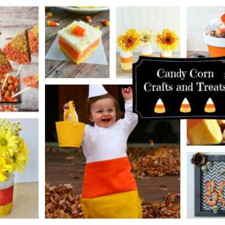 Candy Corn Craft and Treat Ideas