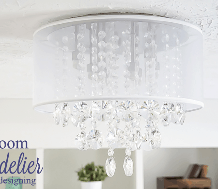 Craft Room : New Light Fixture : Part 4