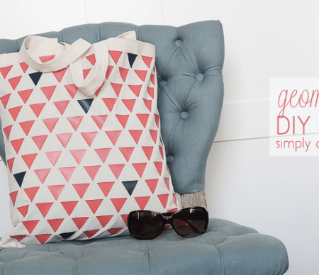 How to Make a Geometric Tote Bag
