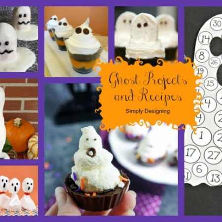 Fun Ghost Crafts and Recipes