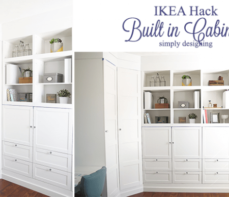 Craft Room : Building in Cabinets : Part 3
