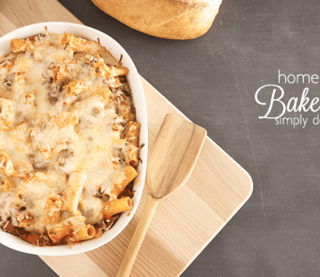 Homemade Baked Ziti Recipe
