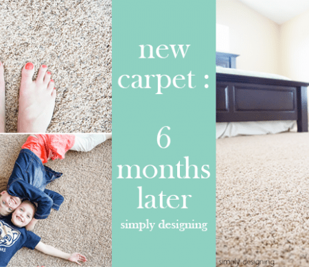My New Carpet : 6 months later + $1,500 Sweepstakes
