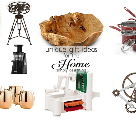 Unique Gift Ideas for the Home