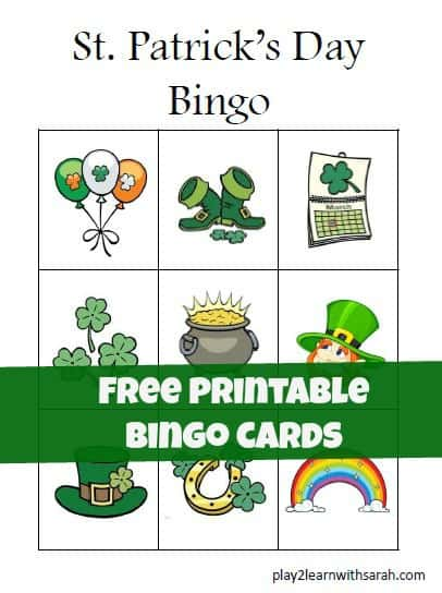 St.-Patricks-Day-Preschool-Bingo