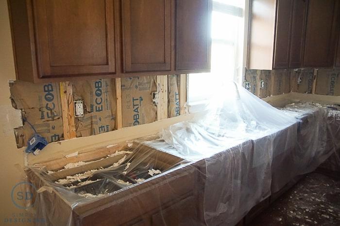 remove tile backsplash