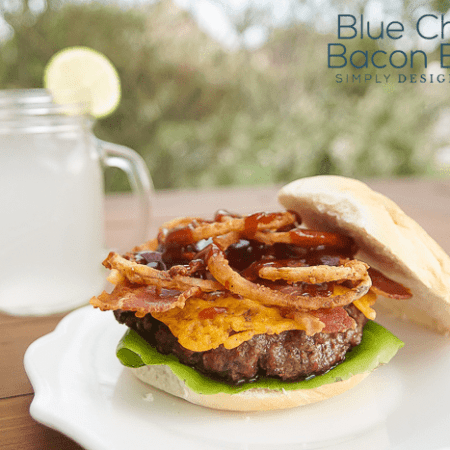 Blue Cheese Bacon Burger Recipe