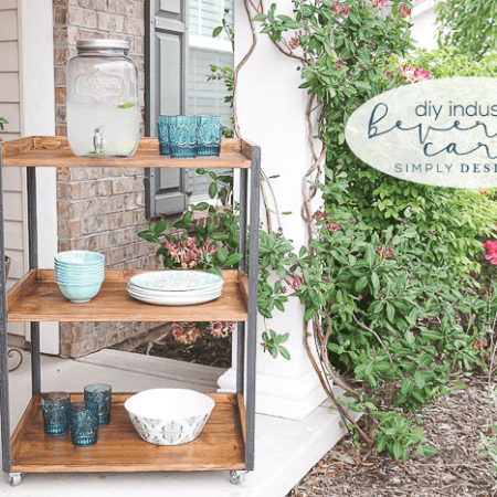 DIY Industrial Beverage Cart