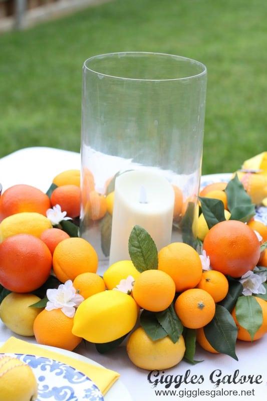 Faux-Citrus-Centerpiece-