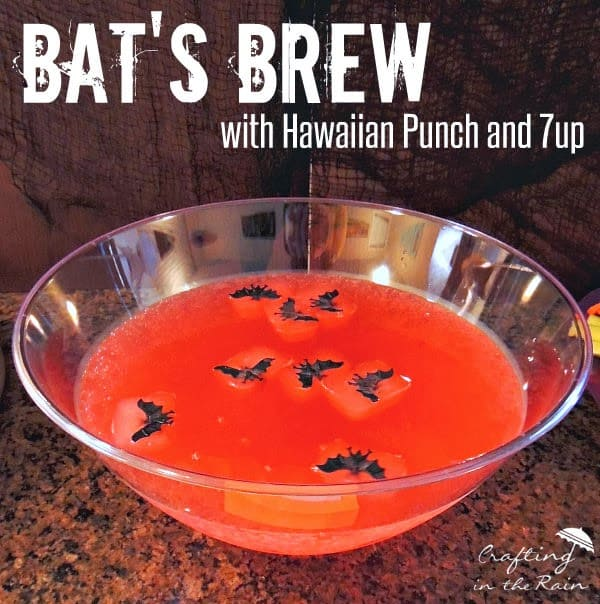Bats Brew Halloween Punch by Crafting in the Rain