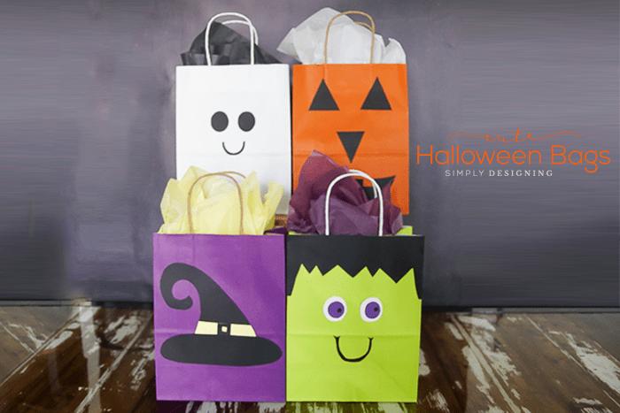 DIY Halloween Bags