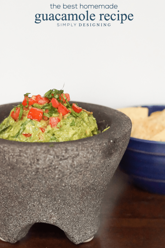The Best Homemade Guacamole Recipe Out There