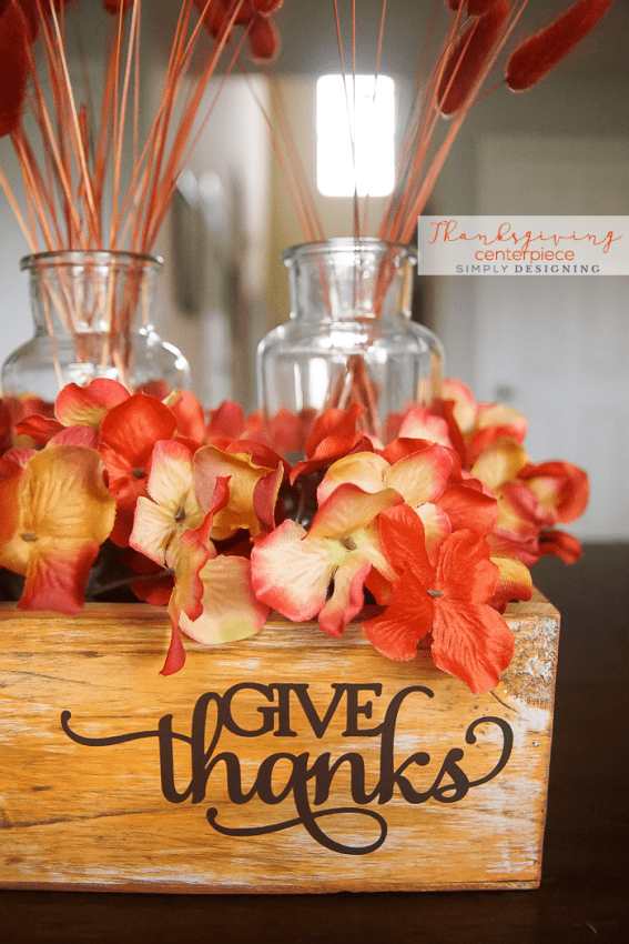 DIY Thanksgiving Centerpiece