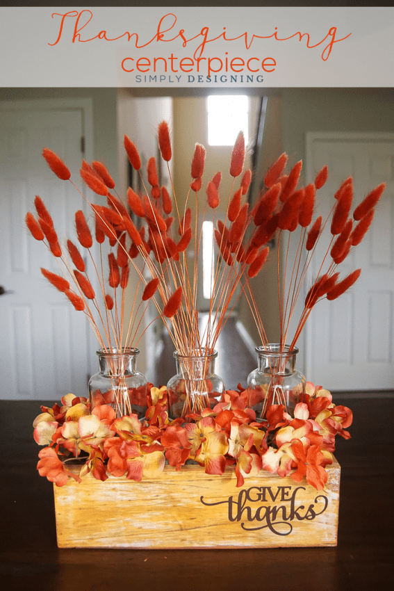 Give Thanks Thanksgiving Centerpiece