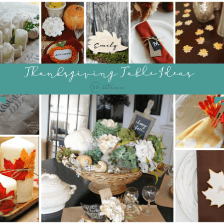 Beautiful Thanksgiving Table Ideas - Simply Designing