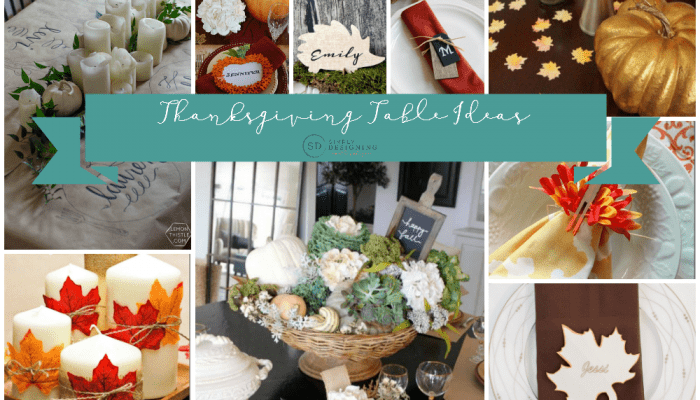 Beautiful Ideas for Your Thanksgiving Table