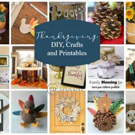 Thanksgiving Crafts, DIYs and Printables