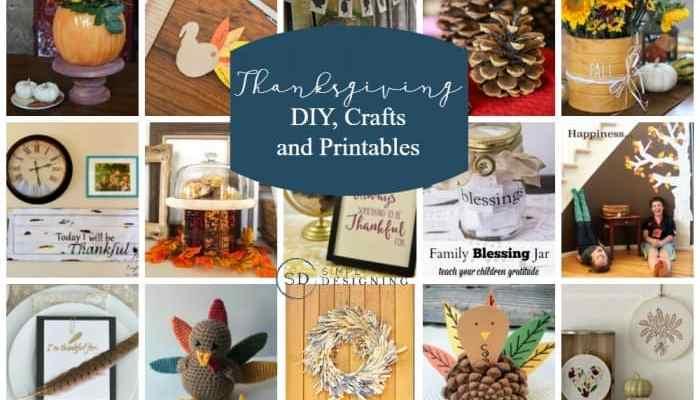 Thanksgiving Crafts, DIYs and Printables