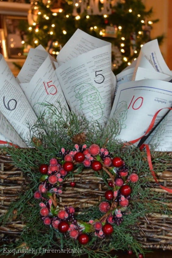 cone-newspaper-advent-calendar