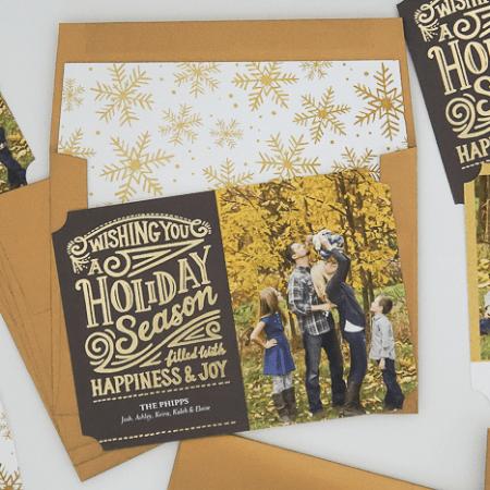 Sneak Peek : Holiday Card 2016