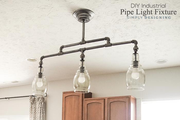 pipe ceiling light diy nakedsnakepress com