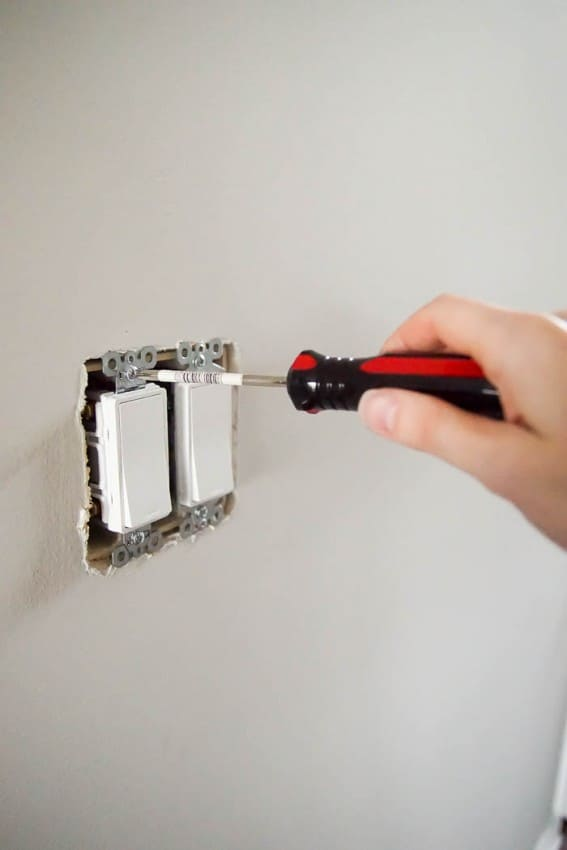 install light switch