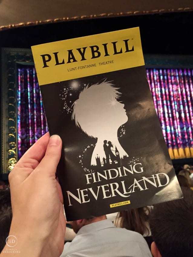 Finding Neverland Broadway NYC