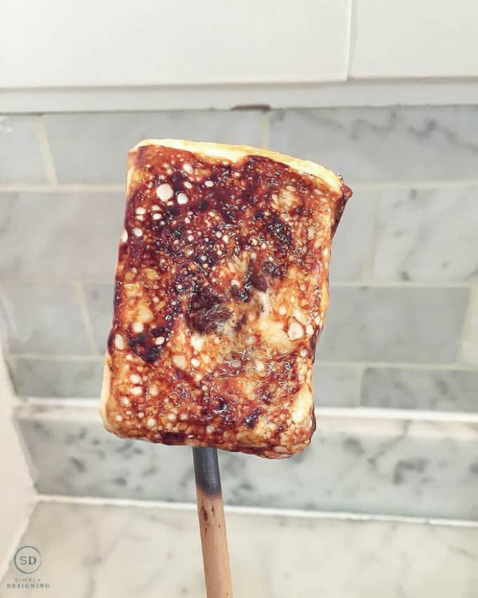 Dominique Ansel Kitchen NYC Frozen S'more on a stick