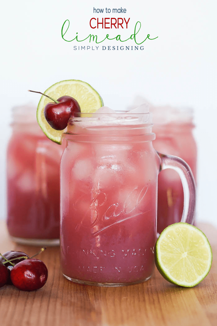 Easy to make Cherry Limeade Recipe